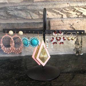 Fashion Earrings 8 Pairs - Lot #3